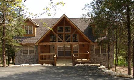 Branson a m branson cabin rentals lodges condos for Cabins near branson mo